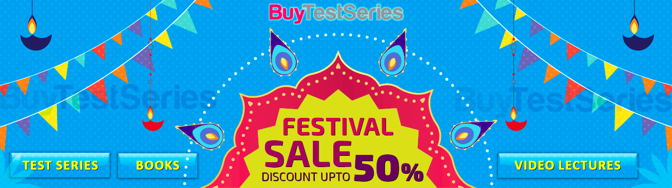 Diwali Sale on BuyTestSeries on CA Video Lectures