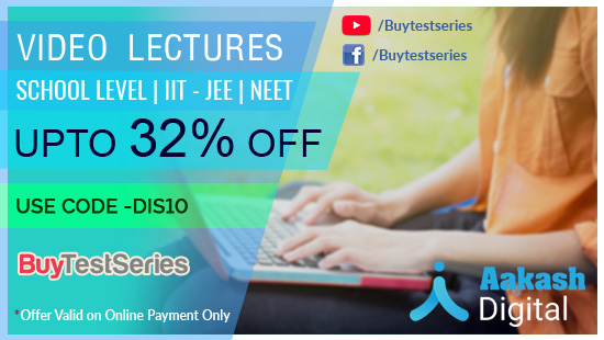 Aakash Video Lectures at lowest prices