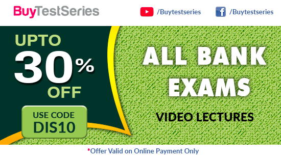 Banking Courses Offer on BuyTestSeries