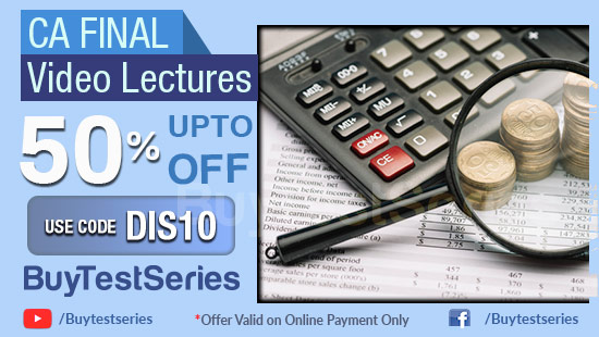 CA Final Video Courses at maximum discount on BuyTestSeries