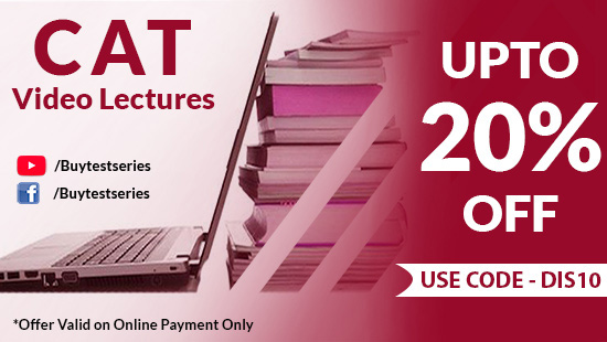 CAT Preparation Video Lectures and Test Series on BuyTestSeries