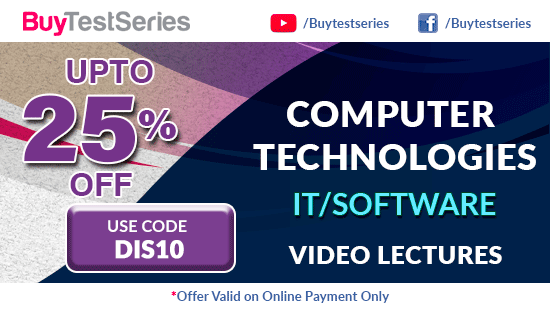Computer Technologies Video Lectures at best prices offered