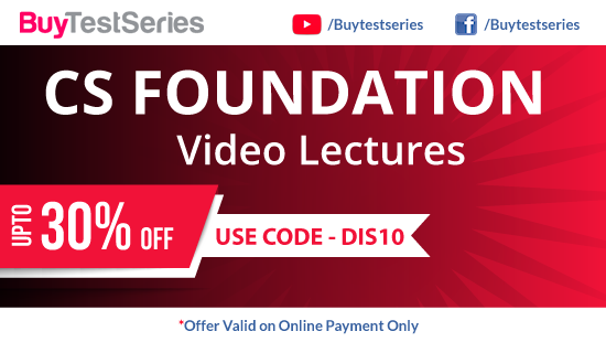 CS Foundation preparation video lectures at best prices offered