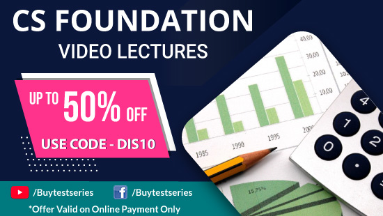 CS Foundation Video Lectures at best prices offered