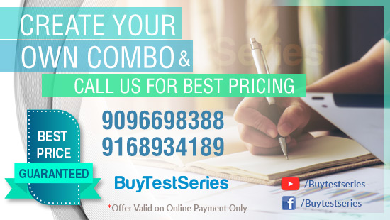 Create your own BuyTestSeries Combo