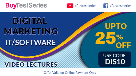Digital Marketing Video Lectures Diwali Offer on BuyTestSeries