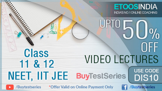 ETOOS Video Lectures at best prices offered