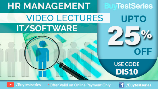HR Management Video Lectures Special Offer on BuyTestSeries
