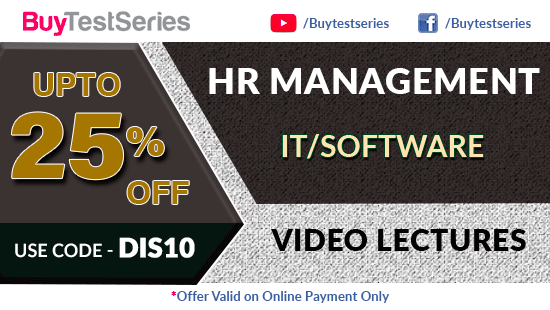 HR Management Video Lectures at best prices offered