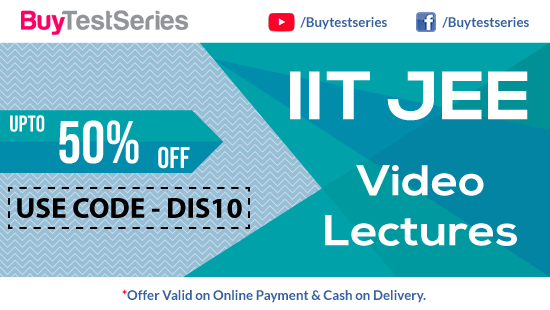JEE Advanced and JEE Mains Video Lectures Special Offer on BuyTestSeries