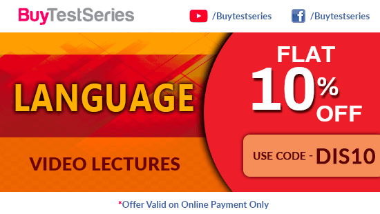 Learn French, English, German only on BuyTestSeries