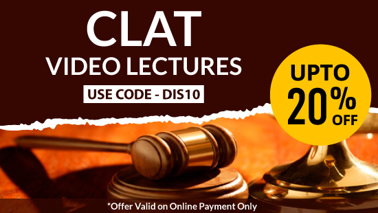 Law CLAT Video Lectures at best prices offered