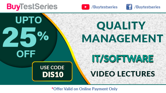 Quality Management Video Lectures Diwali Offer on BuyTestSeries