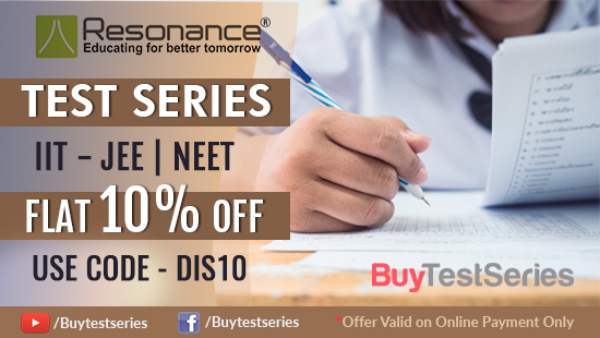 Resonance Test Series on Discount at BuyTestSeries
