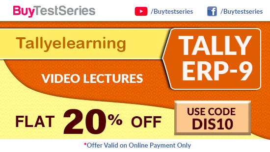 Tally Video Lectures at lowest price on BuyTestSeries