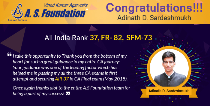 CA Final Group 1 SFM Video Lectures by CA Vinod Agarwal (USB