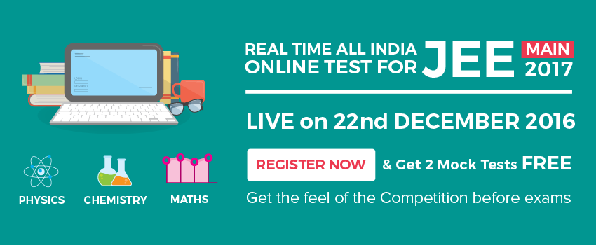 JEE MAIN 2017 Real time test on BuyTestSeries