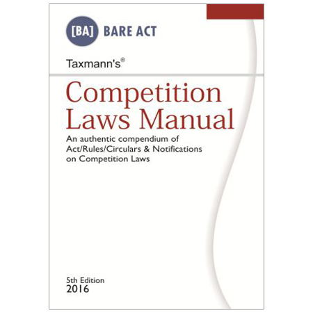 Competition Laws Manual By Taxmann