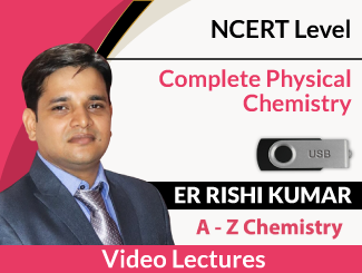 Complete Physical Chemistry of NCERT Level Video Lectures By Er Rishi Kumar (USB)