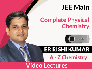 JEE Main Complete Physical Chemistry Video Lectures By Er Rishi Kumar (USB)