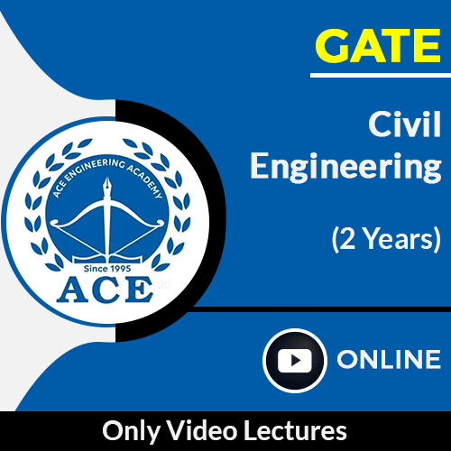 GATE Civil Engineering Only Online Video Lectures by ACE Engg Academy (2 Year)