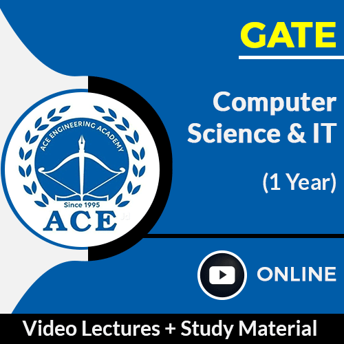 GATE Computer Science & IT Video Lectures with Study Material by ACE Engg Academy (1 Year)
