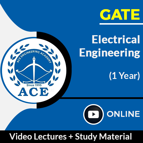 GATE Electrical Engineering Online Video Lectures with Study Material by ACE Engg Academy (1 Year)
