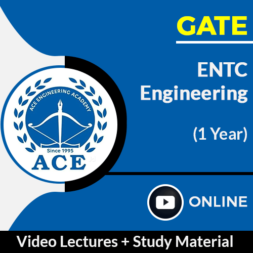 GATE Electronics and Communication Engineering Online Video Lectures with Study Material by ACE Engg Academy (1 Year)