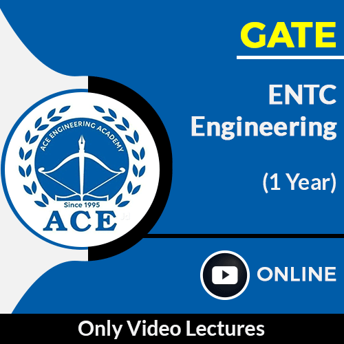 GATE Electronics and Communication Engineering Only Online Video Lectures by ACE Engg Academy (1 Year)
