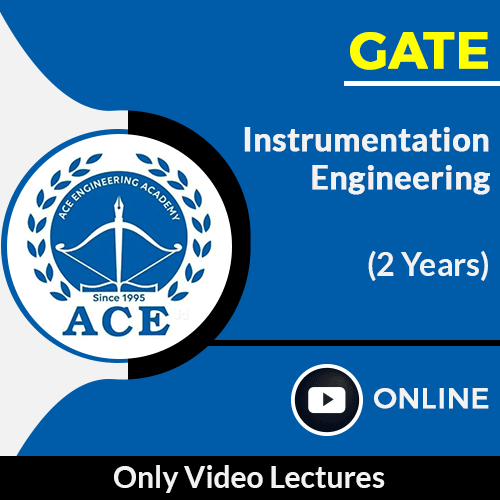 GATE Instrumentation Engineering Only Online Video Lectures by ACE Engg Academy (2 Year)