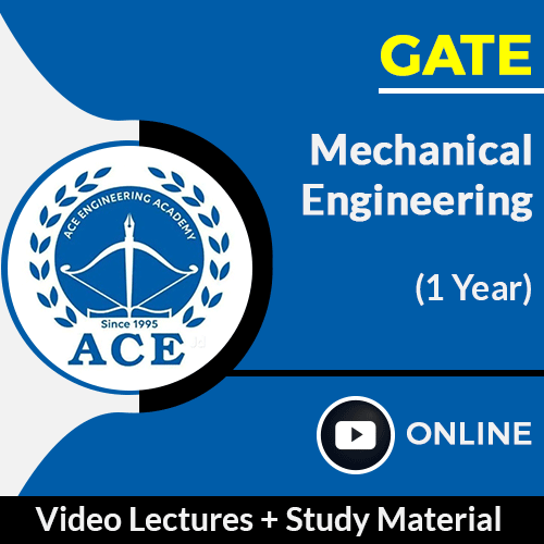 GATE Mechanical Engineering Online Video Lectures with Study Material by ACE Engg Academy (1 Year)