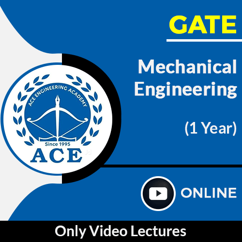 GATE Mechanical Engineering Only Online Video Lectures by ACE Engg Academy (1 Year)