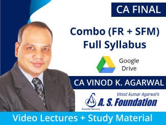 CA Final Combo (FR + SFM) Full Syllabus Video Lectures by CA Vinod Agarwal (Download)