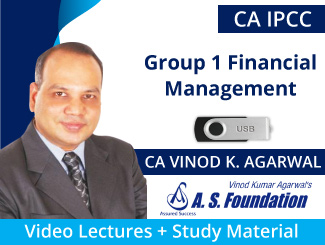 CA IPCC Group 1 Financial Management Video Lectures by CA Vinod Kumar Agarwal (USB)