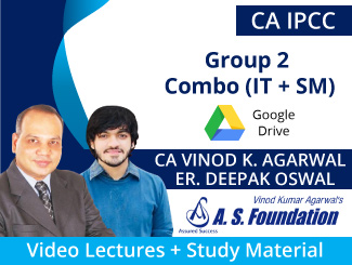 CA IPCC Group 2 Combo (IT + SM) Video Lectures CA Vinod Agarwal & Er Deepak Oswal (Download)