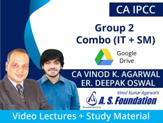CA IPCC Group 2 Combo (IT + SM) Video Lectures CA Vinod Agarwal & Er Deepak Oswal (Download)
