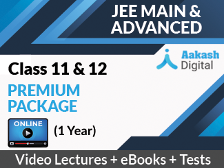 Aakash iTutor Premium Package Online Video Lectures for Class 11 & 12 (JEE Main & Advanced) (1 Year)