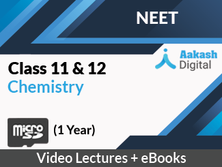 Aakash iTutor Class (11+12) Chemistry for NEET Video Lectures (SD Card, One Year Module)