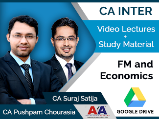 CA Inter FM & Economics Video Lectures by CA Pushpam Chourasia & CA Suraj Satija (Download)