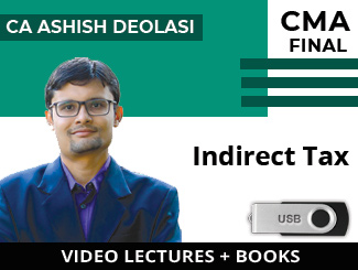 CMA Final IDT Video Lectures by CA Ashish Deolasi (USB + Books)