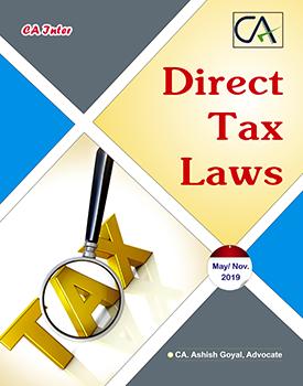 CA Inter Direct Tax Laws Book by CA Ashish Goyal