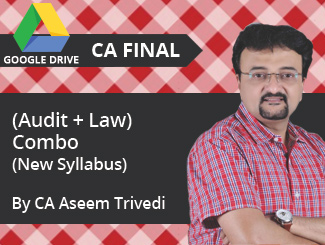 CA Final New Syllabus (Audit + Law) Combo Video Lectures by CA Aseem Trivedi (Download)
