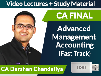 CA Final AMA Fast Track Video Lectures by CA Darshan Chandaliya (USB)