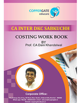 CA Inter Costing Full Course Book by CA Dani Khandelwal