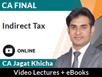 CA Final IDT Video Lectures by CA Jagat Khicha (Online)