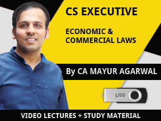 CS Executive ECL Video Lectures by CA Mayur Agarwal (USB)