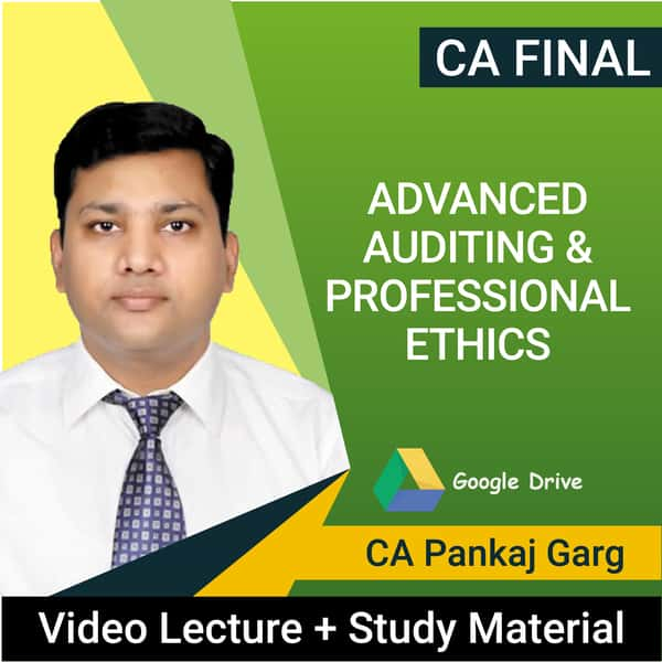 CA Final Advanced Auditing & Professional Ethics Video Lectures by CA Pankaj Garg (Download, May 2021)