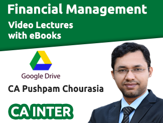 CA Inter Financial Management Video Lectures by CA Pushpam Chourasia (Download + eBooks)