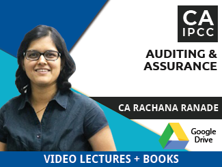 CA IPCC Auditing & Assurance Video Lectures by CA Rachana Ranade (Download)