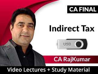 CA Final IDT Video Lectures by CA RajKumar Nader (USB)